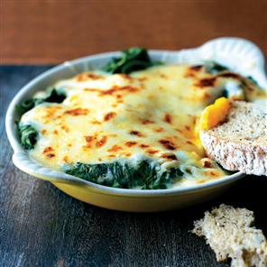 Eggs Florentine (Traditional)