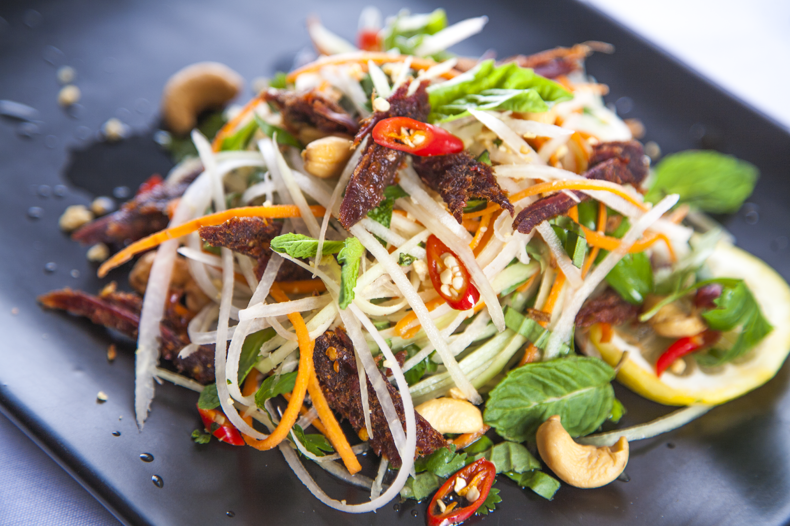 warm thai beef salad the never ending cookbook